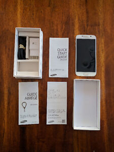 Samsung Galaxy S6 32 GB White (Telus) Excellent Condition