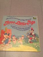 Walt Disney Three Little Pigs