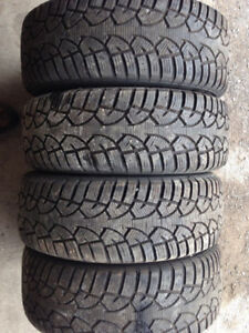 205/60/15 general snow tires on 4 bolt rims
