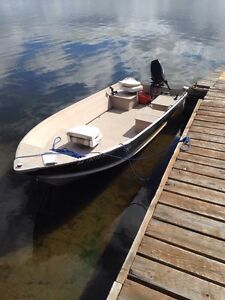 2009 16' prosport with 30hp two stroke