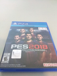 PES 2018 Premium Edition for PS4