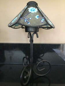 Stained Glass Tea Lite Lamp