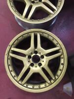 19inch OEM 2 piece AMG mercedes rims authentic