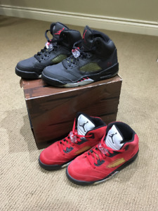Selling Jordan 5s Raging Bulls pack