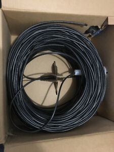More than 800 ft of Coaxial Cable wire