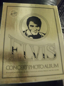 ELVIS CONCERT PHOTO ALBUM