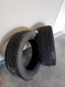 For Sale-2 Firestone Destination 255/60R19
