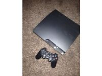 250gb PS3 boxed up with 11 games