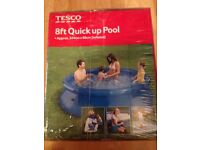 New in box Tesco pop up 8ft pool
