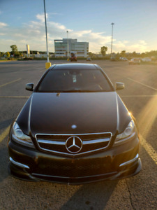 Mercedes C250 Coupe 2012 AMG Sport Package