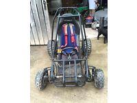Off road petrol buggy quad bike