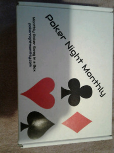 Poker Night Monthly Boxed Gift Set NEW in box