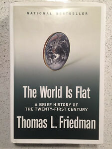 The World Is Flat - autographed by author