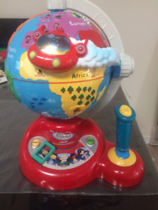 VTECH Little Einstein globe... English
