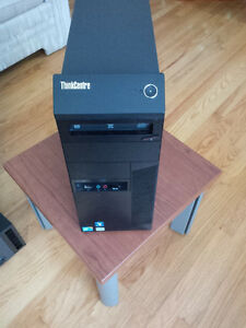 Lenovo Tower Core i3 3.3GHz, 16GB DDR3, pay no tax & 4month warr