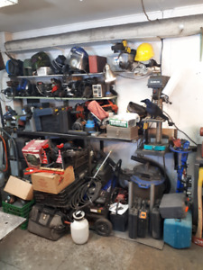 EVERYTHING MUST GO TOOL SALE - SUNDAY MARCH 24 - 10AM TO 2PM