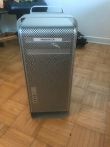 MAC PRO 2009 /QUAD CORE /16GB RAM/256GB SSD+1TB/GT 120 GRAPHICS