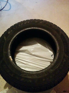 Used Goodyear Nordic Winter tires 195/65R 15 Oakville / Halton Region Toronto (GTA) image 1