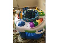 Baby's activity station