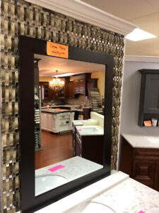 solid wood demo MIRRORS on CLEARANCE!!!