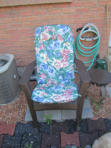 PAIR of ADIRONDACK RESIN CHAIRS
