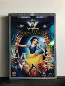 Snow White and the Seven Dwarfs !BLU RAY! (Diamond Edition)