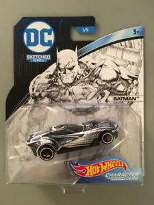 Hot Wheels Character Cars DC Sketched Series - Batman
