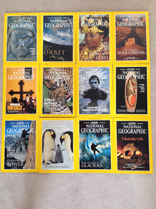 National Geographic Magazines (1996-1998 Editions) for sale