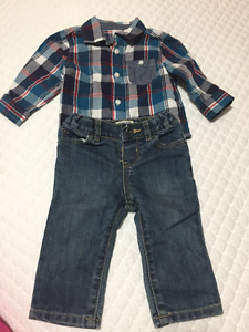 Spring / Fall baby boy clothes in size 6 - 12 months