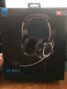 Xtreme Gaming On-Ear PC/USB Headset with Microphone ~