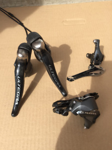 Assorted Bicycle & Shimano Parts