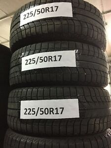 225/50R17 Michelin pneus d'hiver winter tires 2255017