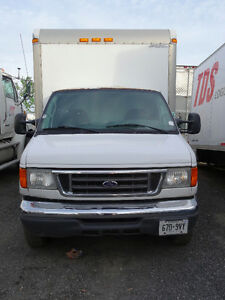 2006 Ford E-450 16FT Cube Van; Scarborough,ON