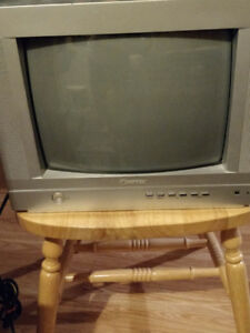 2 use small tv for sale for $40.00 working condition