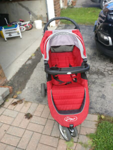 City select mini jogging stroller