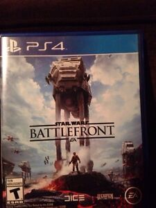 Selling starwars battlefront ps4