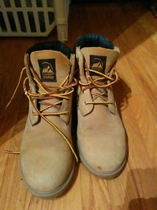 Construction style shoes/boots