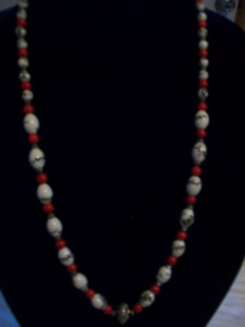 Hand Crafted Chinese Beaded Necklace