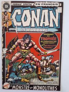 Conan, le Barbare, BD, Bande Dessinée,  EH,  1972-1981