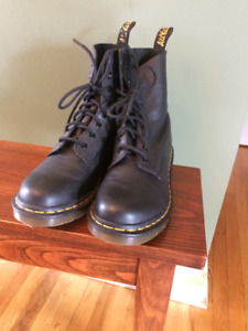 Black Doc Martens Womans size 8 - barely worn $80.00