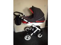 baby pushchair 3in1