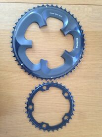 Shimano Ultegra FC6750 10sp Compact Chainrings 50/34 used