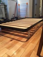 Super great twin bed frame and mattress