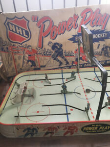 Jeu de hockey sur table antique