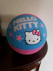 "Hello Kitty BASKETBALL 27.5"" Sports Official Size Youth/Junior"