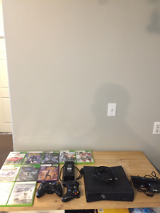 Xbox 360 250Gb, 10 Games 2 Controllers and Xbox Connect 150$OBO