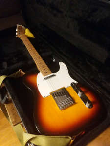 Fender Telecaster /Seymour Duncan Pickups /Fender Locking Tuners