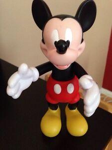 "Vinyl 12"" Disney Mickey Mouse figure"