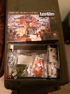 Axis and Allies and Warhammer 40k books
