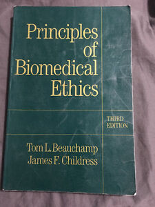 Principles of Biomedical Ethics Textbook for SALE